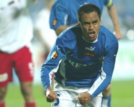 Henry Quinteros ma powody do radości Fot. Łukasz Grochala /Agencja Przegląd Sportowy