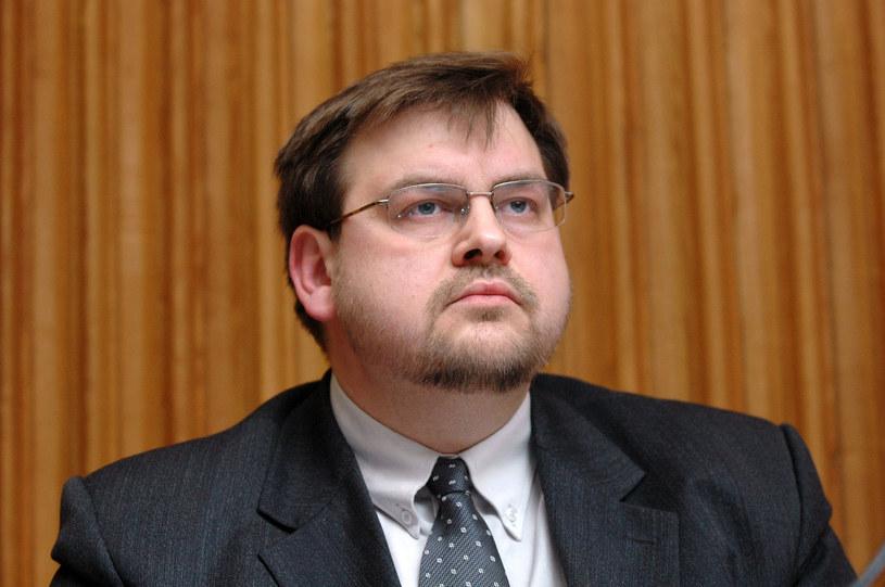 Henryk Głębocki; fot. archiwalna z 2006 roku /fot. Krzysztof Pacuła  /Agencja FORUM