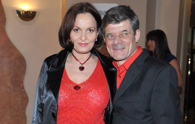 Henryk Gołębiewski z żoną, fot. Andras Szilagyi  /MWMedia