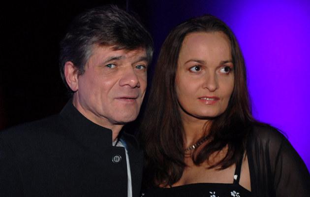Henryk Gołębiewski z żoną /fot.Andrzej Szilagyi  /MWMedia