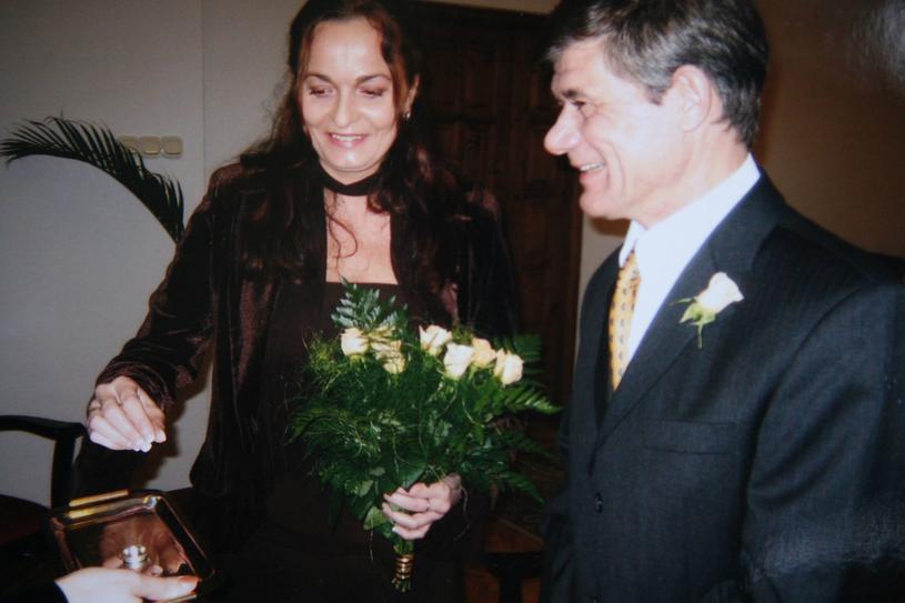 Henryk Gołębiewski z żoną Marzenną, 2007 rok /Agencja SE/Piotr Blawicki /East News