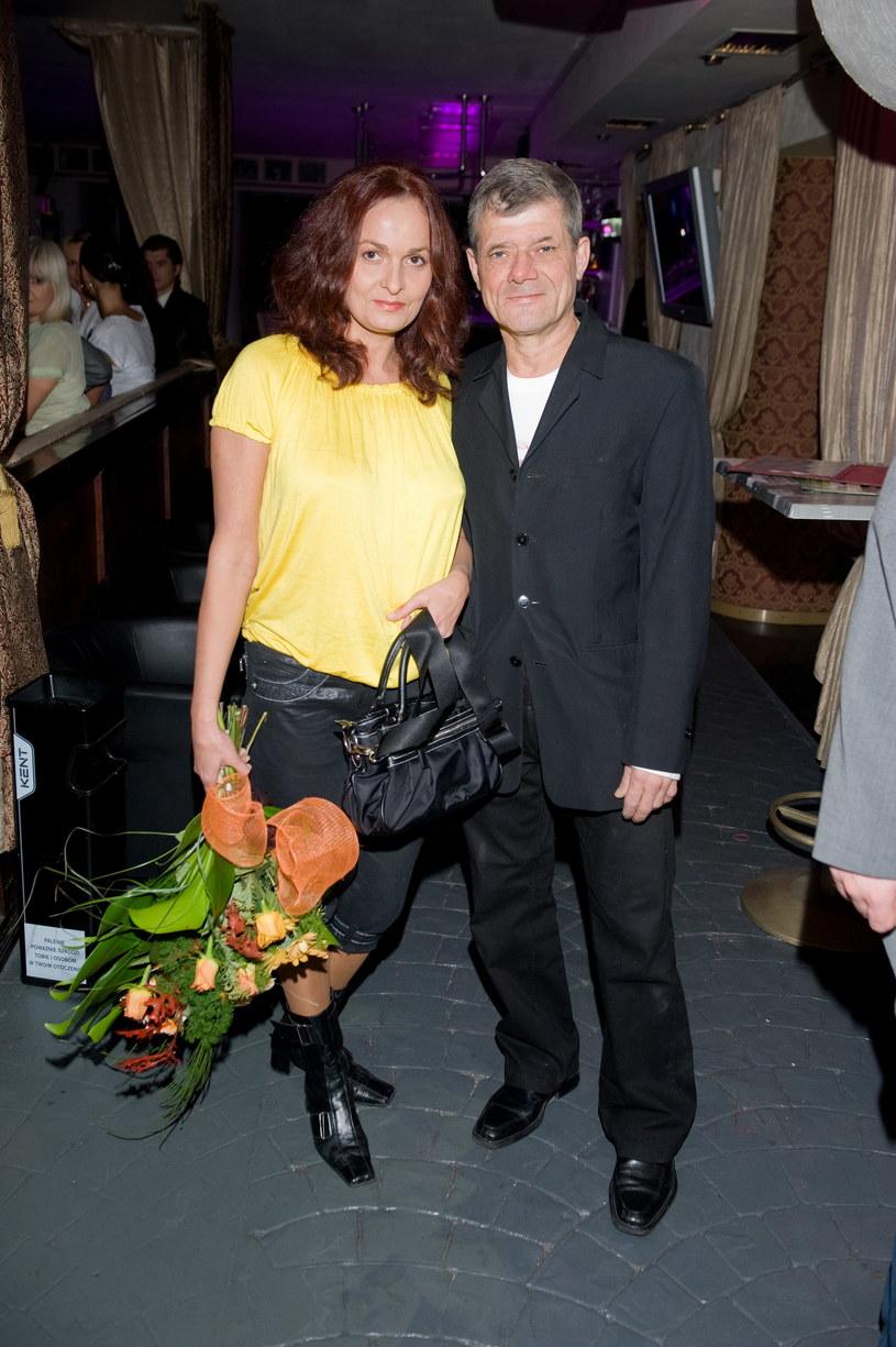 Henryk Gołębiewski z żoną Marzenną /Jarosław Antoniak /MWMedia