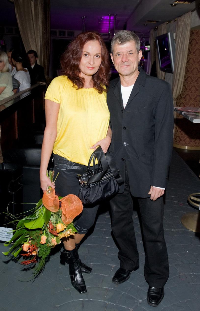 Henryk Gołębiewski z żoną /VIPHOTO /East News