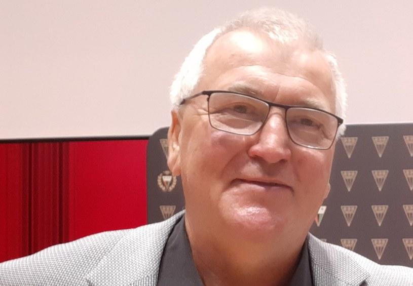 Henryk Gruth, sportowiec 50-lecia GKS-u Tychy /Paweł Czado /INTERIA.PL