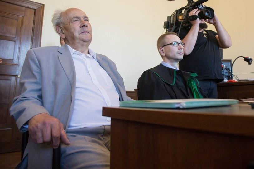 Henryk Jagielski podczas majowej rozprawy /Piotr Hukalo /East News