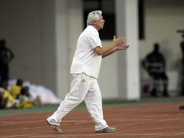 Henryk Kasperczak jako trener Senegalu /AFP