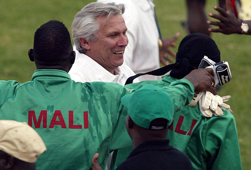 Henryk Kasperczak liczy na sukces z piłkarzami Mali /AFP