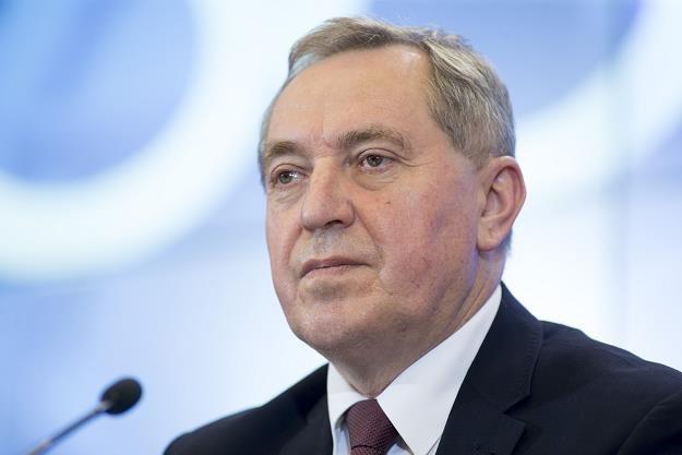 Henryk Kowalczyk, minister środowiska. fot Andrzej Iwańczuk /Reporter