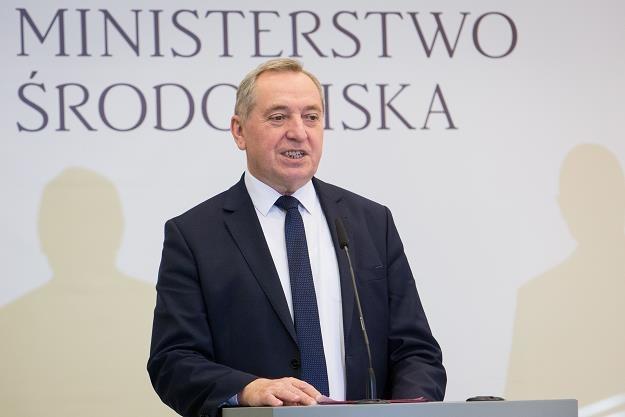 Henryk Kowalczyk, minister środowiska. Fot. Mateusz Włodarczyk /FORUM