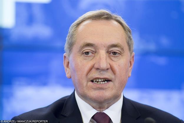 Henryk Kowalczyk, minister w kancelarii premiera. Fot. Andrzej Iwańczuk /Reporter