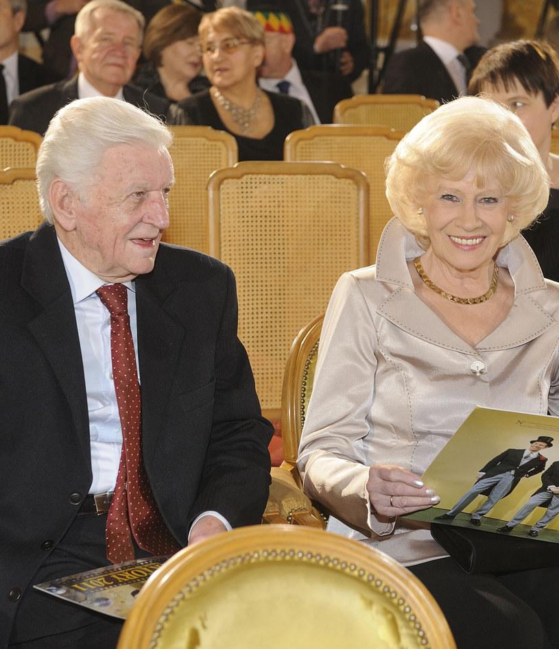 Henryk Loska z żoną, Krystyną /Jarosław Antoniak /MWMedia