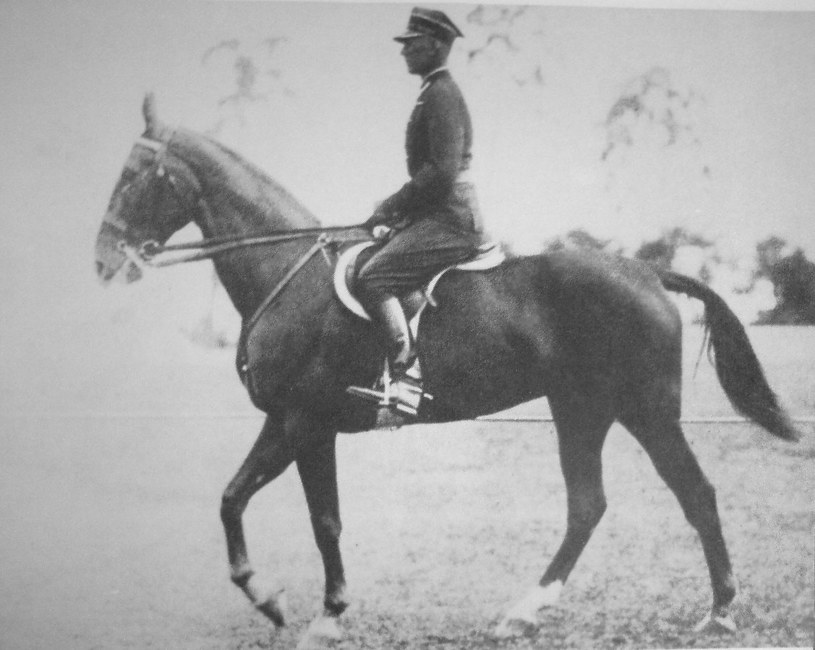 Henryk Roycewicz podczas igrzysk w Berlinie w 1936 roku; źródło: wikipedia /