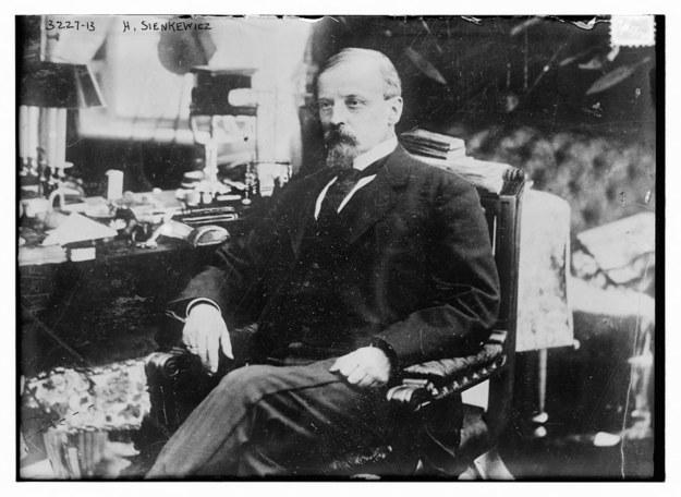 Henryk Sienkiewicz na zdjęciu z 1900 roku / Historic Collection / Alamy Stock Photo /PAP/EPA