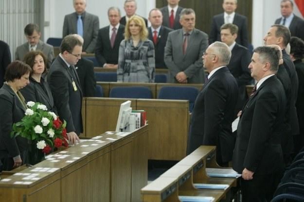 Henryk Stokłosa składa ślubowanie, fot. S. Maszewski /Reporter