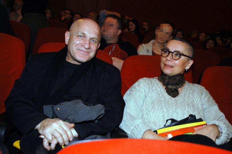 Henryk Talar z żoną, 2004 rok /Niemiec /AKPA