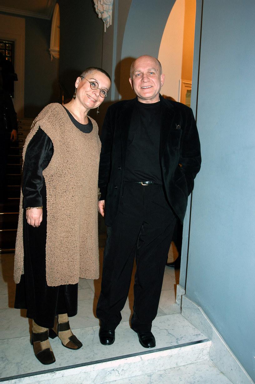 Henryk Talar z żoną, 2005 rok /Mikulski /AKPA