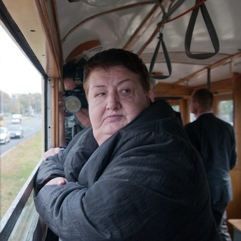 Henryka Krzywonos, 2011 r. /Łukasz Szeląg /Reporter