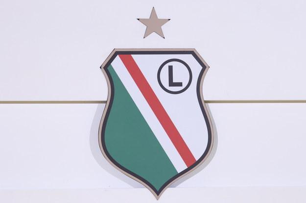 Herb Legii Warszawa / Leszek Szymański    /PAP