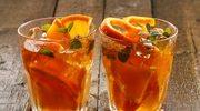 Herbaciana lemoniada o smaku pomarańczy