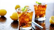 Herbata mrożona z cytrynkami z rumem