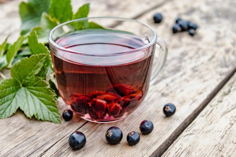Herbata z czarnej porzeczki