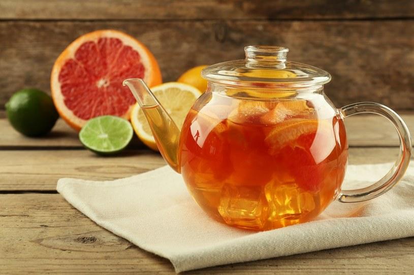 Herbata z grejpfrutem /materiały prasowe