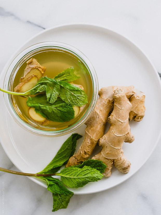 herbata z imbirem /© Photogenica