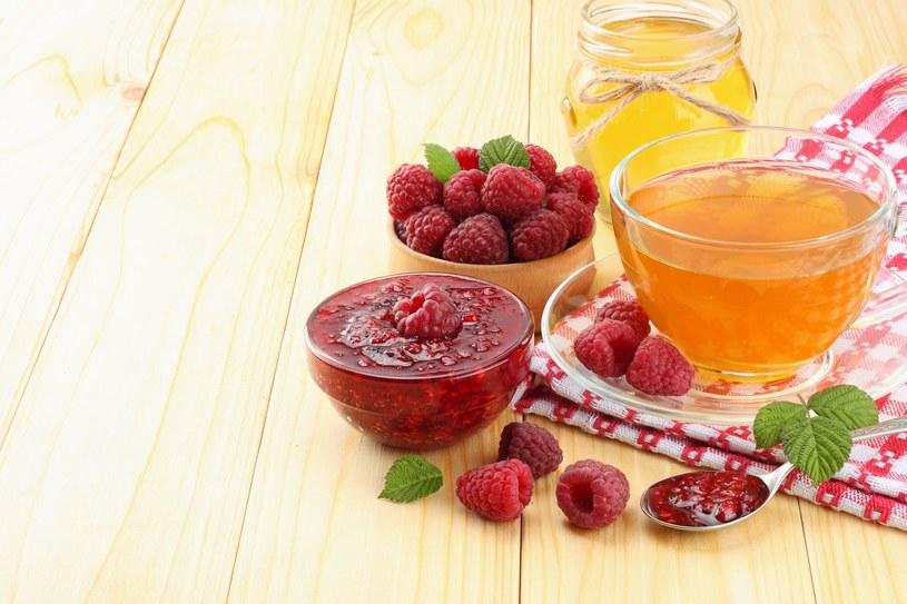 Herbata z malinami /materiały prasowe