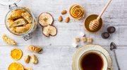 Herbata z suszonymi jabłkami i gruszkami