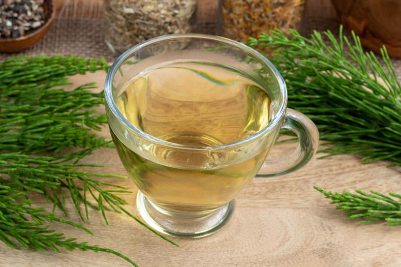 Herbata ze skrzypu polnego /©123RF/PICSEL