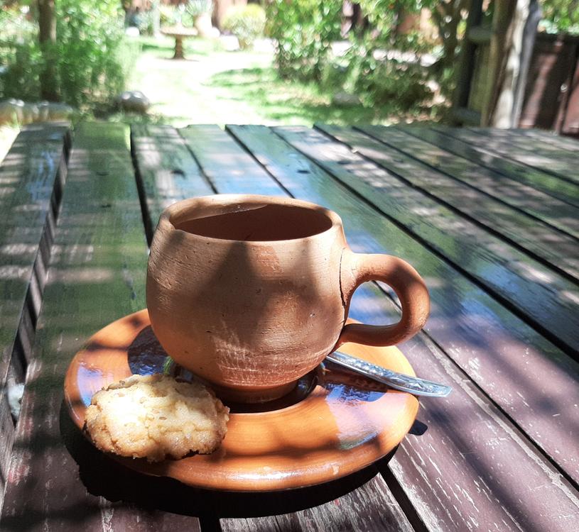 Herbatę przygotowuje się z ziół prosto z ogrodu /Styl.pl