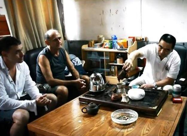 Herbatka u pana Wanga /Łaźnia Nowa
