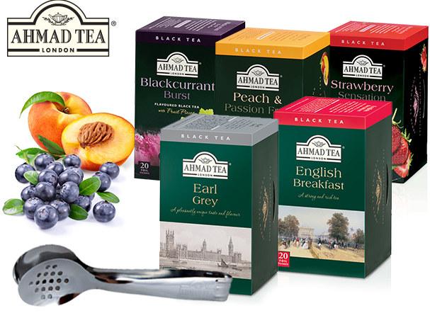 Herbaty Ahmad Tea /materiały prasowe