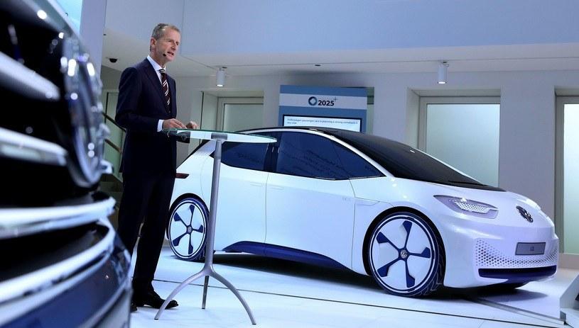 Herbert Diess, dyrektor generalny Volkswagen AG /AFP