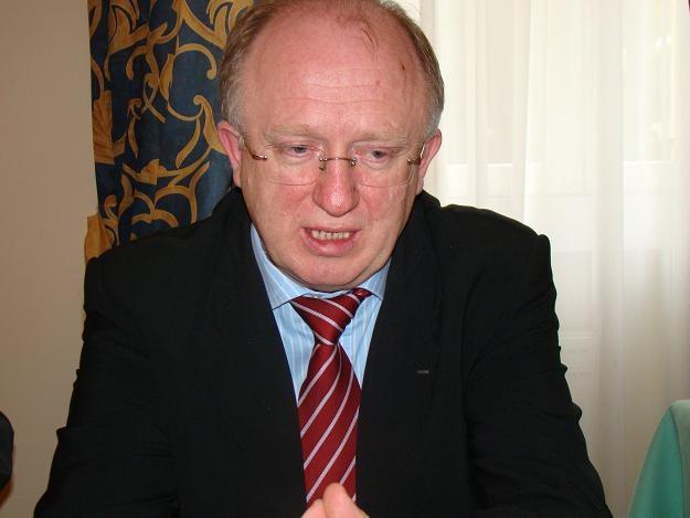 Herbert Wirth, prezes KGHM /INTERIA.PL