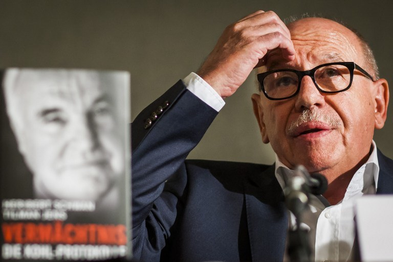 Heribert Schwan, autor książki /AFP