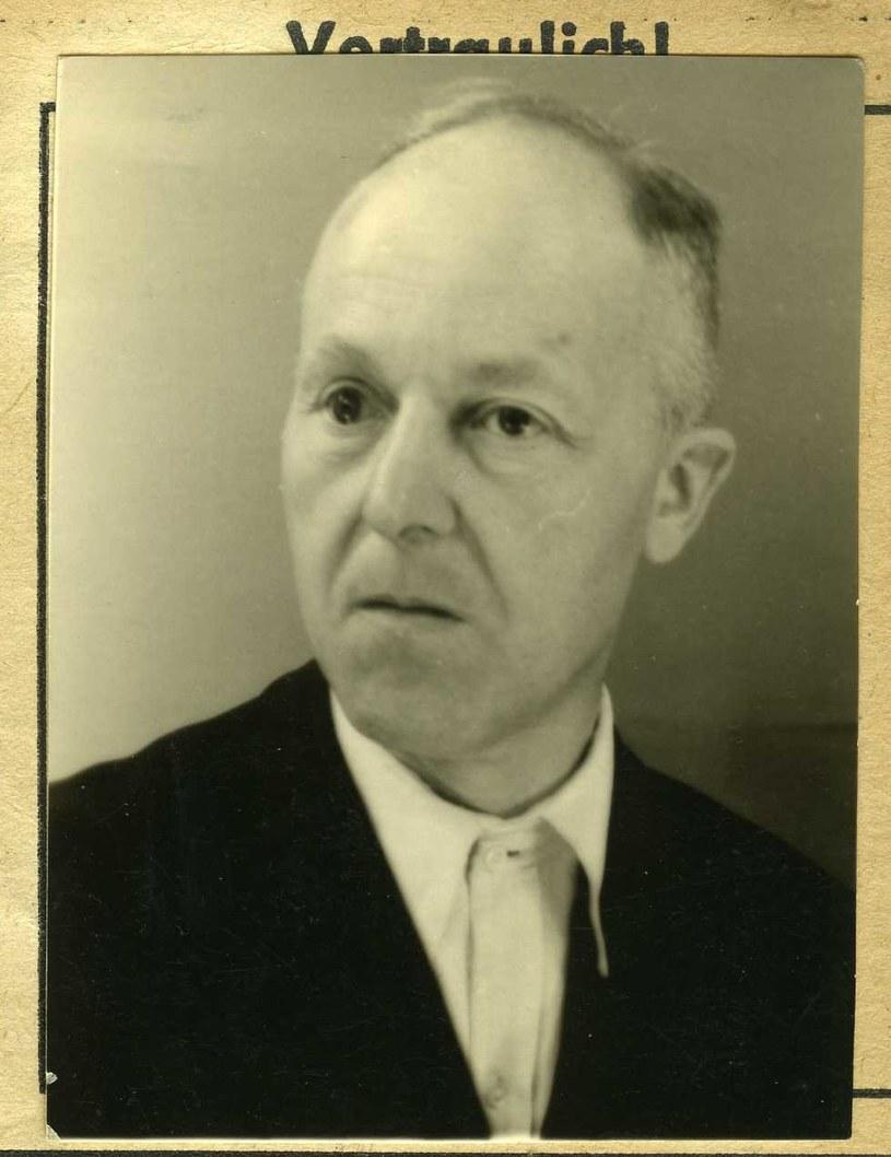Hermann Voss na fotografii z 1948 r. /Archiwum Uniwersytetu Friedricha Schillera w Jenie