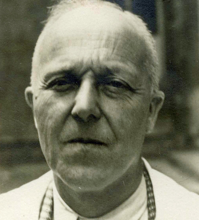 Hermann Voss na zdjęciu z 1952 r. /Archiwum Uniwersytetu Friedricha Schillera w Jenie