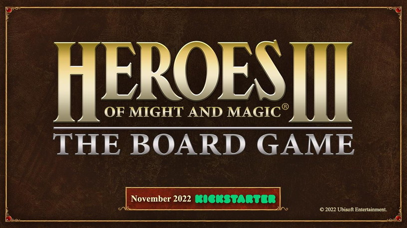 Heroes of Might and Magic III: The Board Game /materiały prasowe