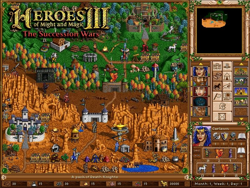 Heroes of Might & Magic III The Succession Wars /materiały źródłowe