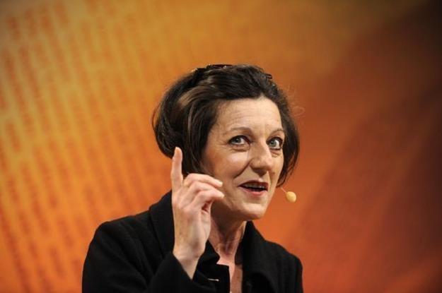 Herta Mueller, laureatka literackiej nagrody Nobla, odwiedzi Polskę /AFP