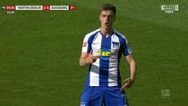 Hertha - Augsburg 2-0 - skrót. Gol Krzysztofa Piątka (ZDJĘCIA ELEVEN SPORTS). WIDEO