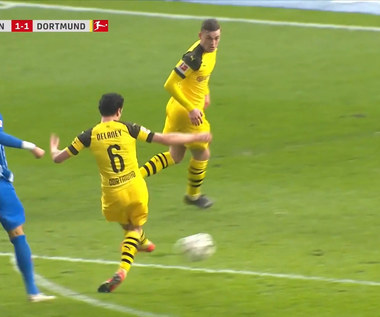 Hertha Berlin - Borussia Dortmund 2-3 - skrót (ZDJĘCIA ELEVEN SPORTS). WIDEO