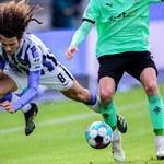 Hertha Berlin - Borussia Moenchengladbach. Grad goli, Piątek ruszył na ratunek