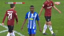 Hertha Berlin - Hannover 96 0-0 - skrót (ZDJĘCIA ELEVEN SPORTS). WIDEO