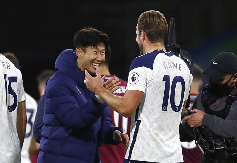 Heung-min Son i Harry Kane, czyli najlepszy duet w Premie League w tym momencie /Getty Images