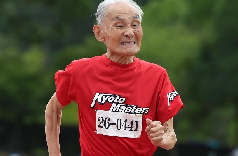 Hidekichi Miyazaki, rekordzista w biegu na 100 m. /AFP