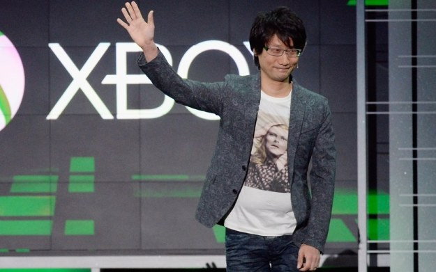 Hideo Kojima - zdjęcie z targów E3 2013 w Los Angeles /AFP