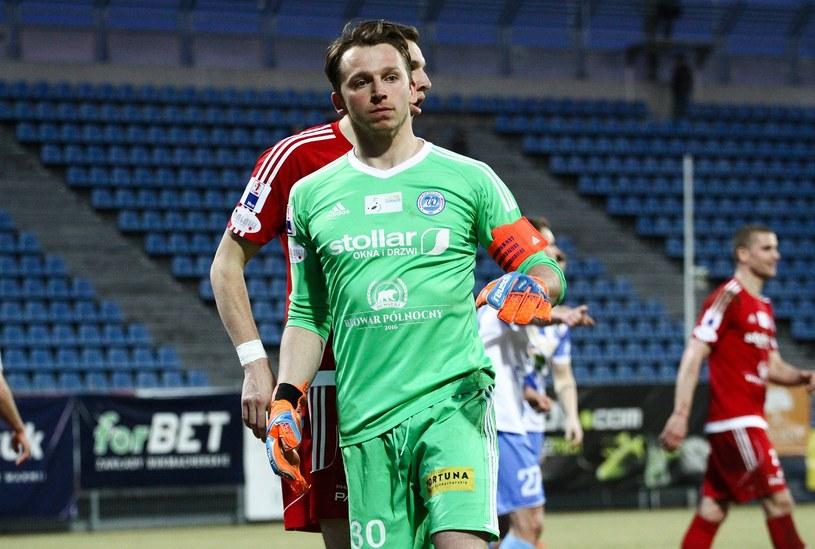 Hieronim Zoch, goalkeeper Wigier, this season only appeared in Puchar Polski / Artur Szczepański / East News