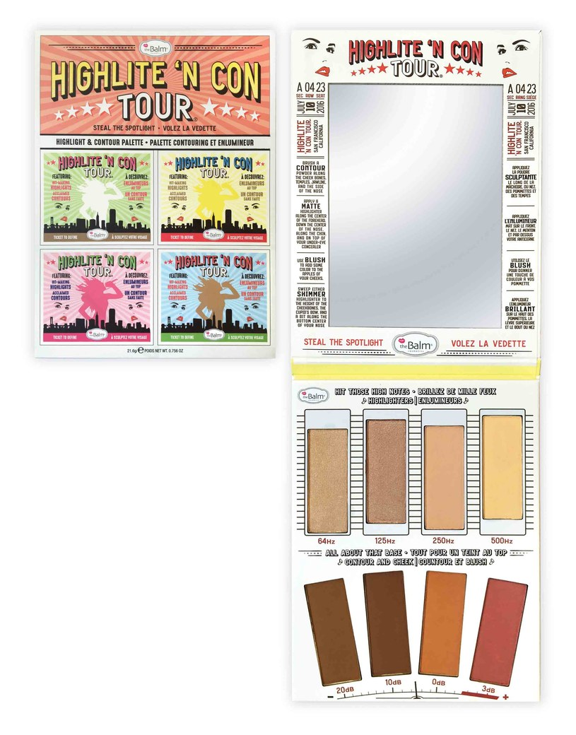 Highlite'n con tour /materiały prasowe